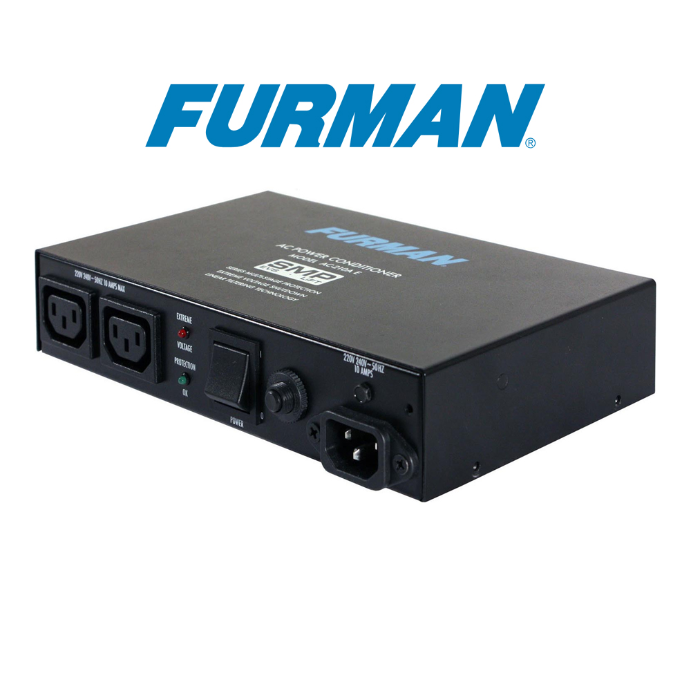 Furman  10A Two Outlet Power Conditioner - AC-210A E