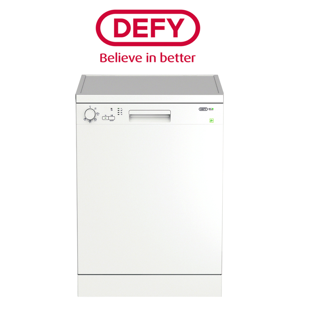 Defy White 12 Place Setting Dishwasher - DDW175