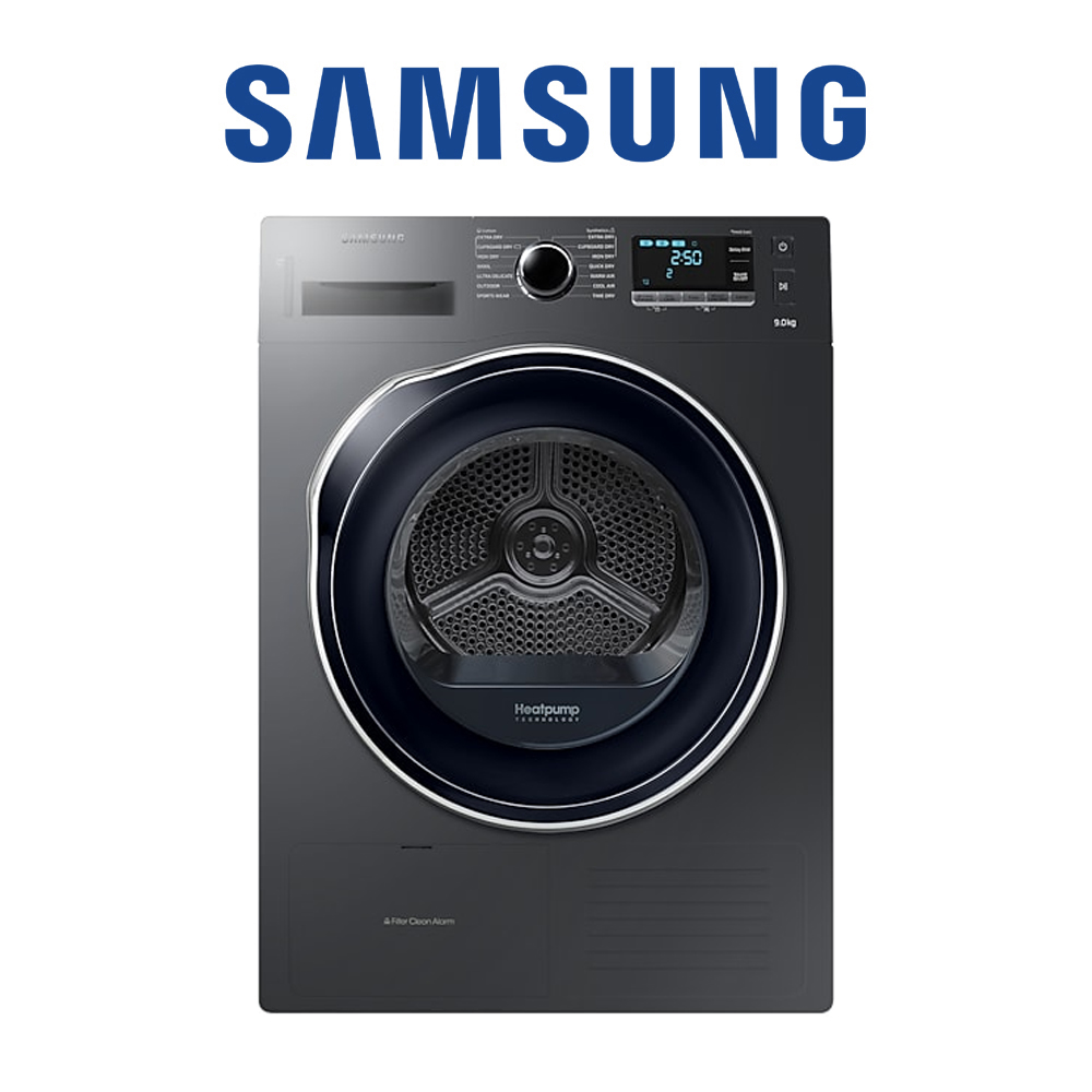 Samsung Tumble Dryer with Heat Pump Technology, 9 kg - DV90K6000CX
