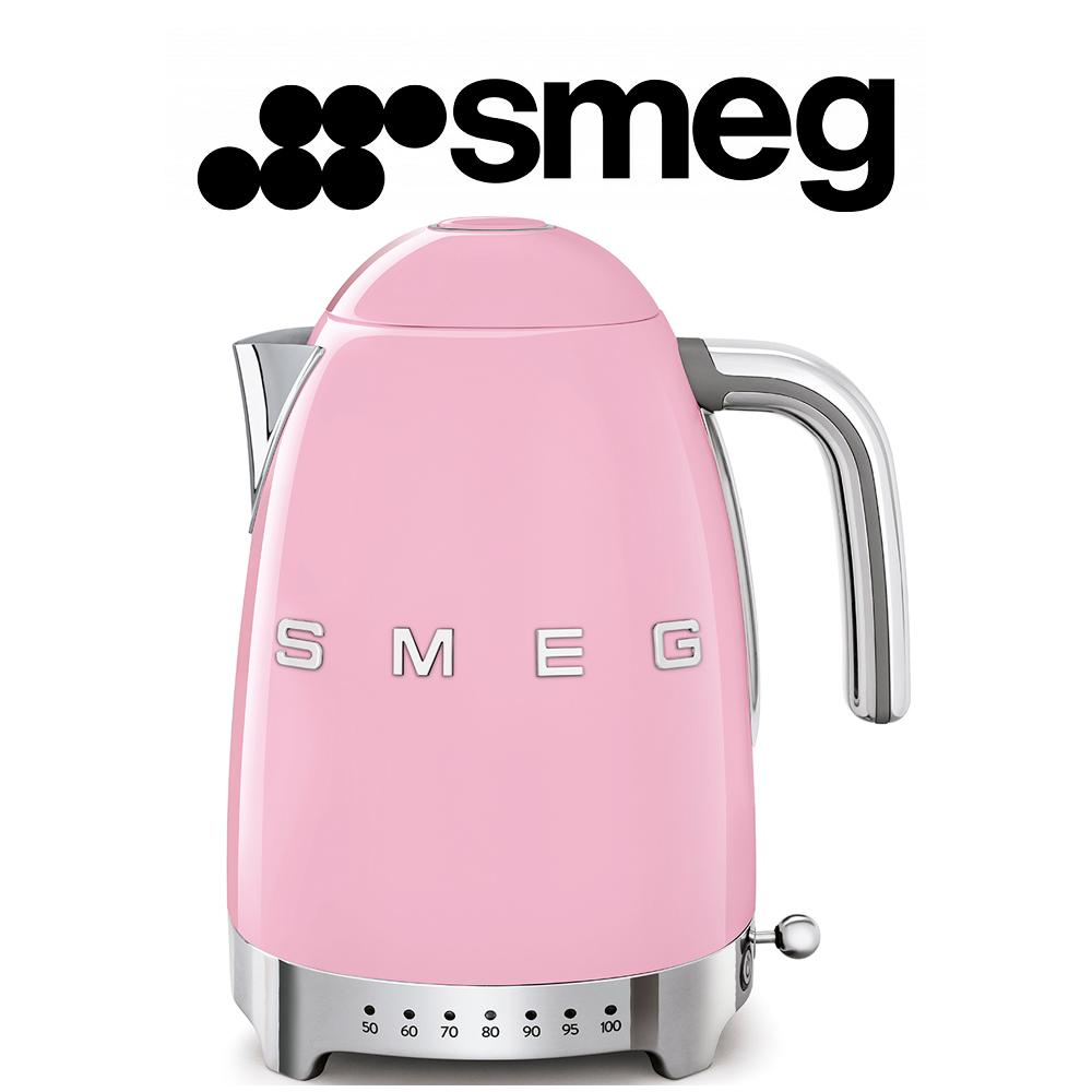 Smeg 50's Retro Style Aesthetic - Pastel Pink - KLF04PKEU