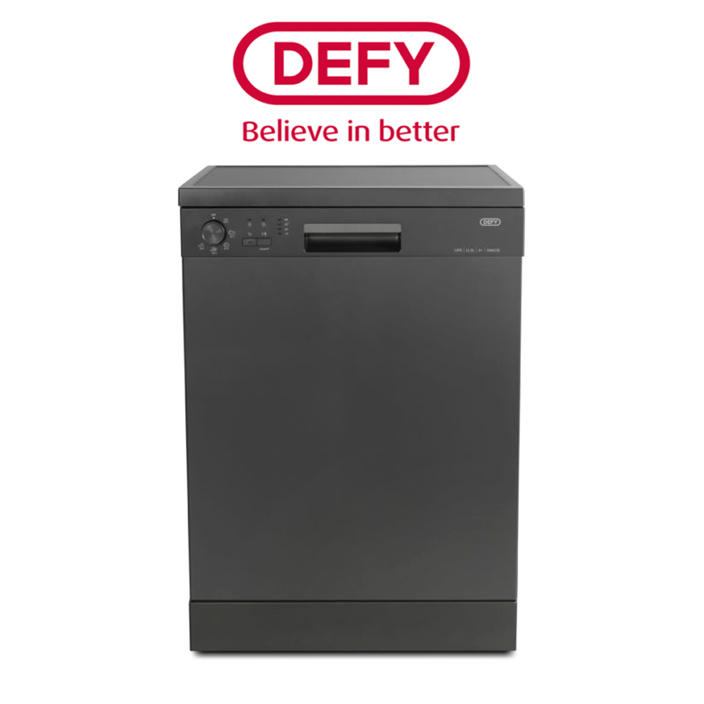 Defy 13 Place A+ Manhatten Grey Dishwasher - DDW 232