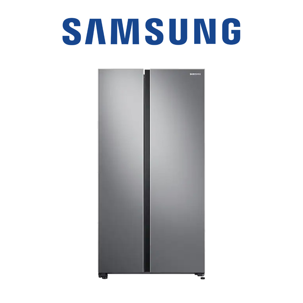 Samsung 2 Door, 647 L, Gentle Silver - RS62R5011M9