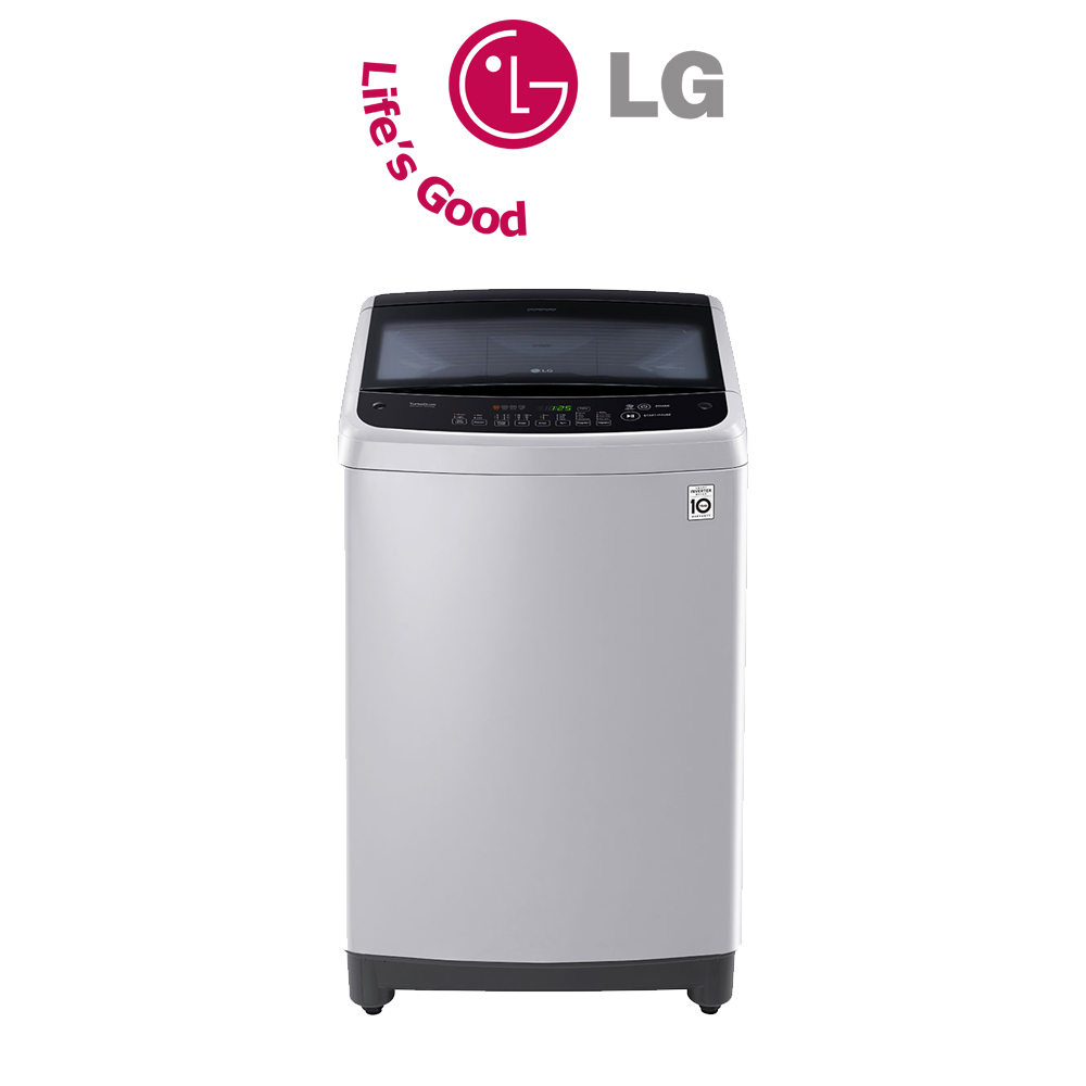 LG 17kg Silver Sapience Pro Top Loader Washing Machine - T1777NEHTE