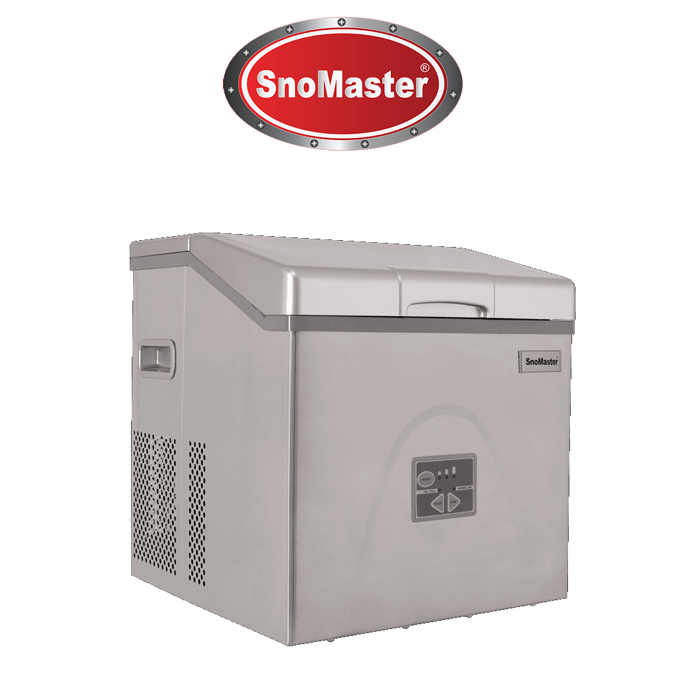 SnoMaster 20kg Table Top Ice Maker - Stainless Steel (ZBC-20)