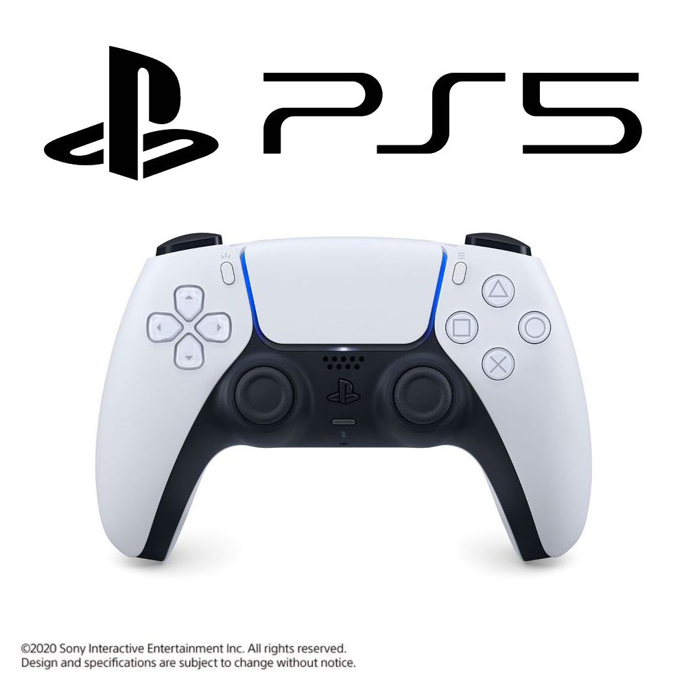 Playstation 5 Dualsense Controller - Glacier White (PS5)