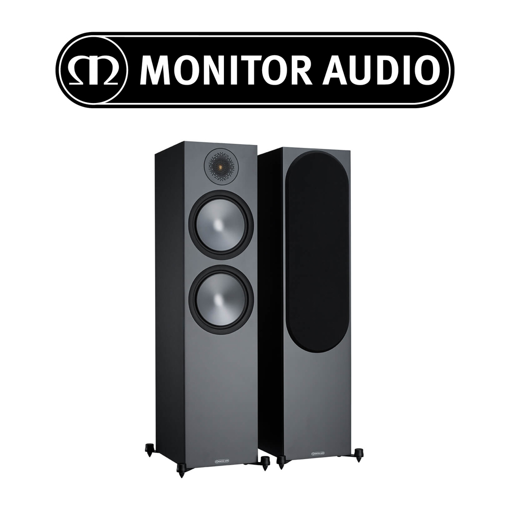 Monitor Audio Bronze 500 Floorstanding Speakers - SB6G500B