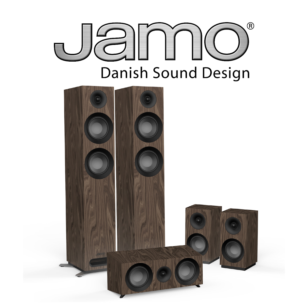 Jamo S 807 HCS  Home Cinema System - S807HCS WALNUT