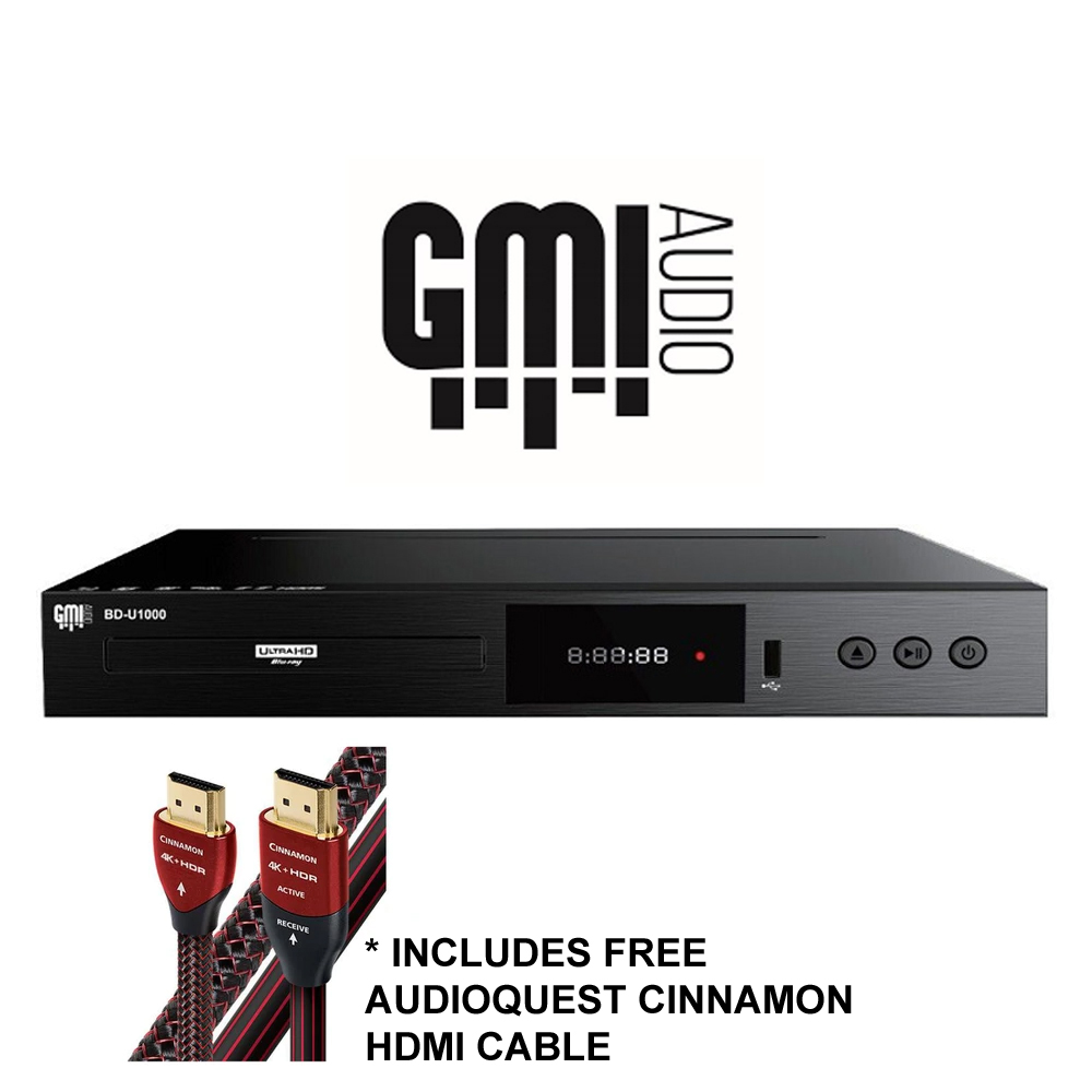 GMI Audio 4K Ultra-HD Blu-Ray Player - BD-U1000