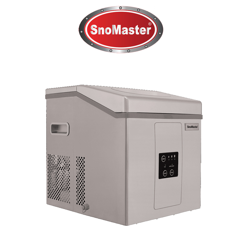 SnoMaster 15kg Table Top Ice Maker - Stainless Steel (ZBC-15)