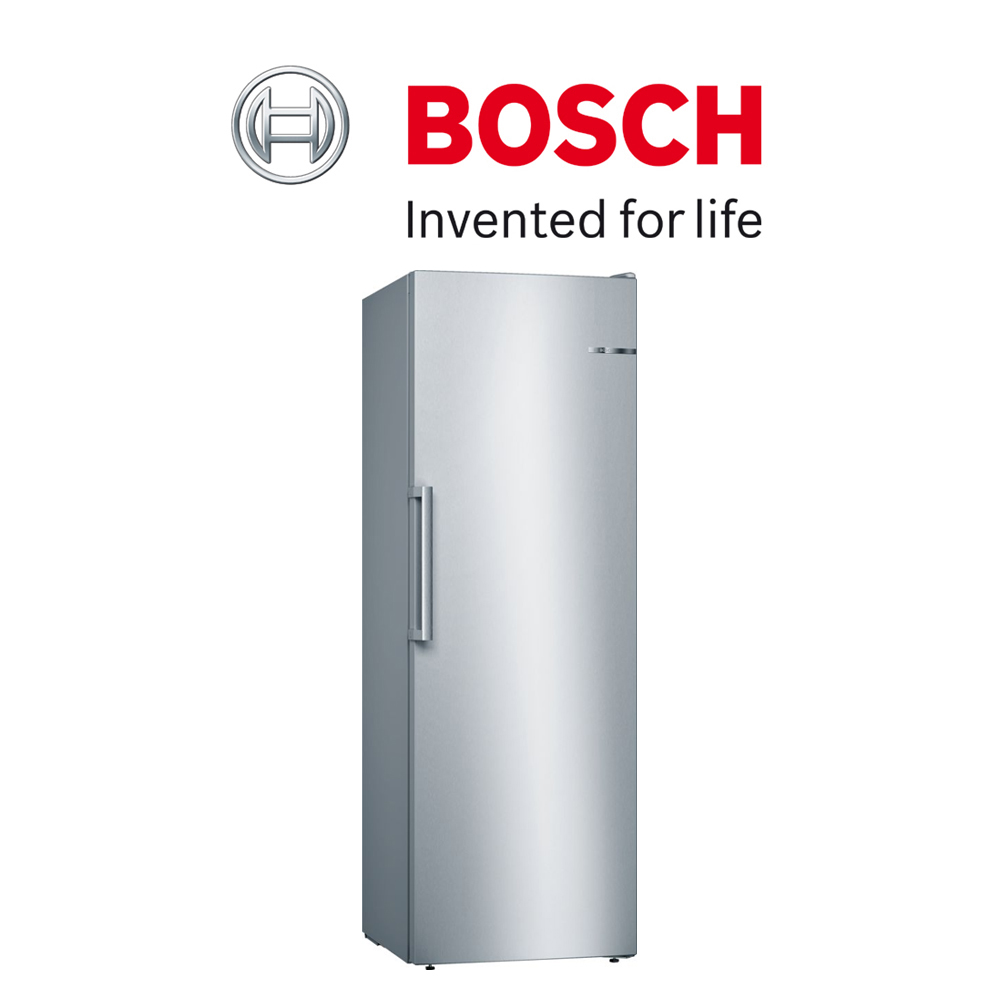 Bosch Serie   4 Freestanding Freezer Stainless steel - GSN33VI31Z