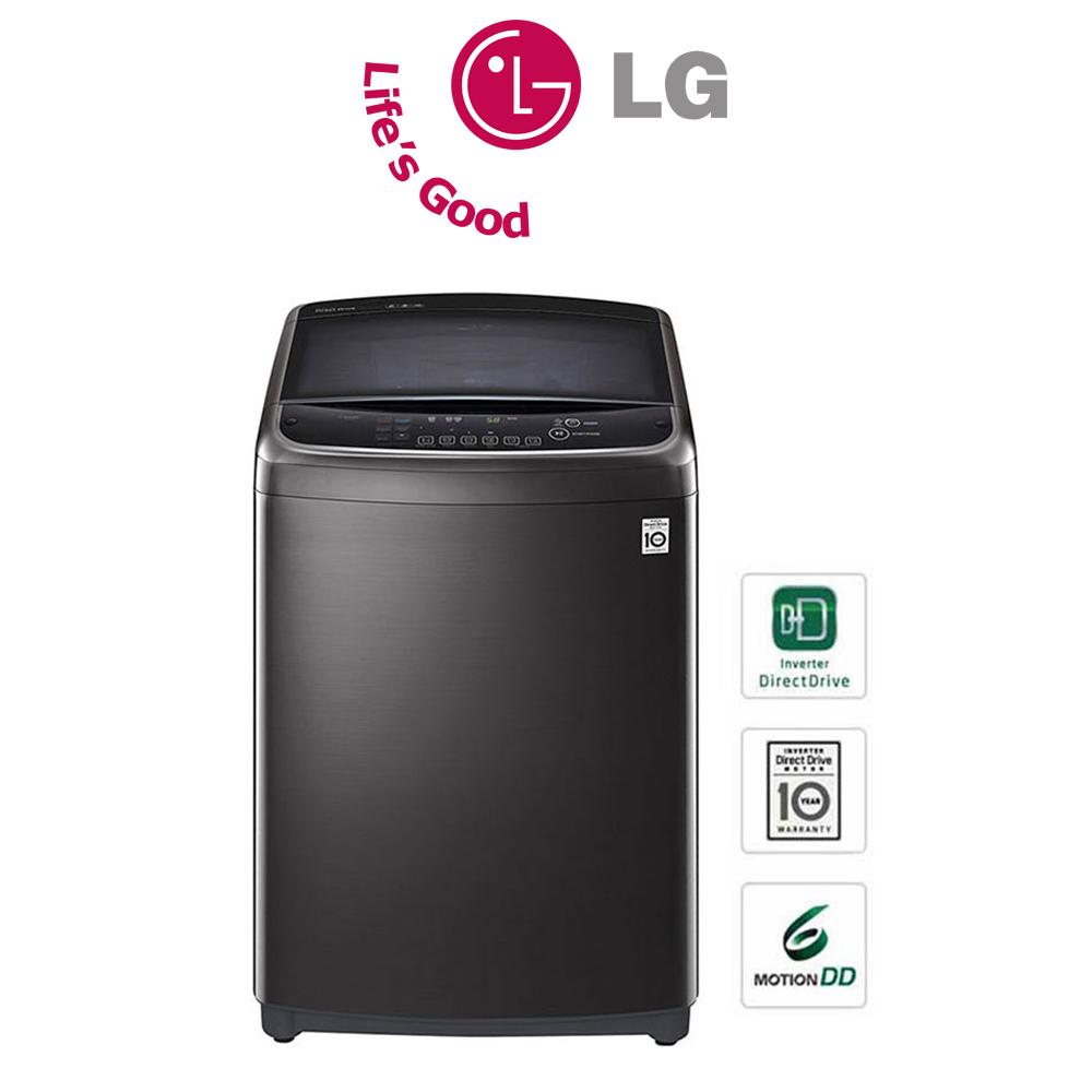 LG 21KG Washing Machine, Smart Laundry Habit with TurboWash3D™ - T2193EFHSKL