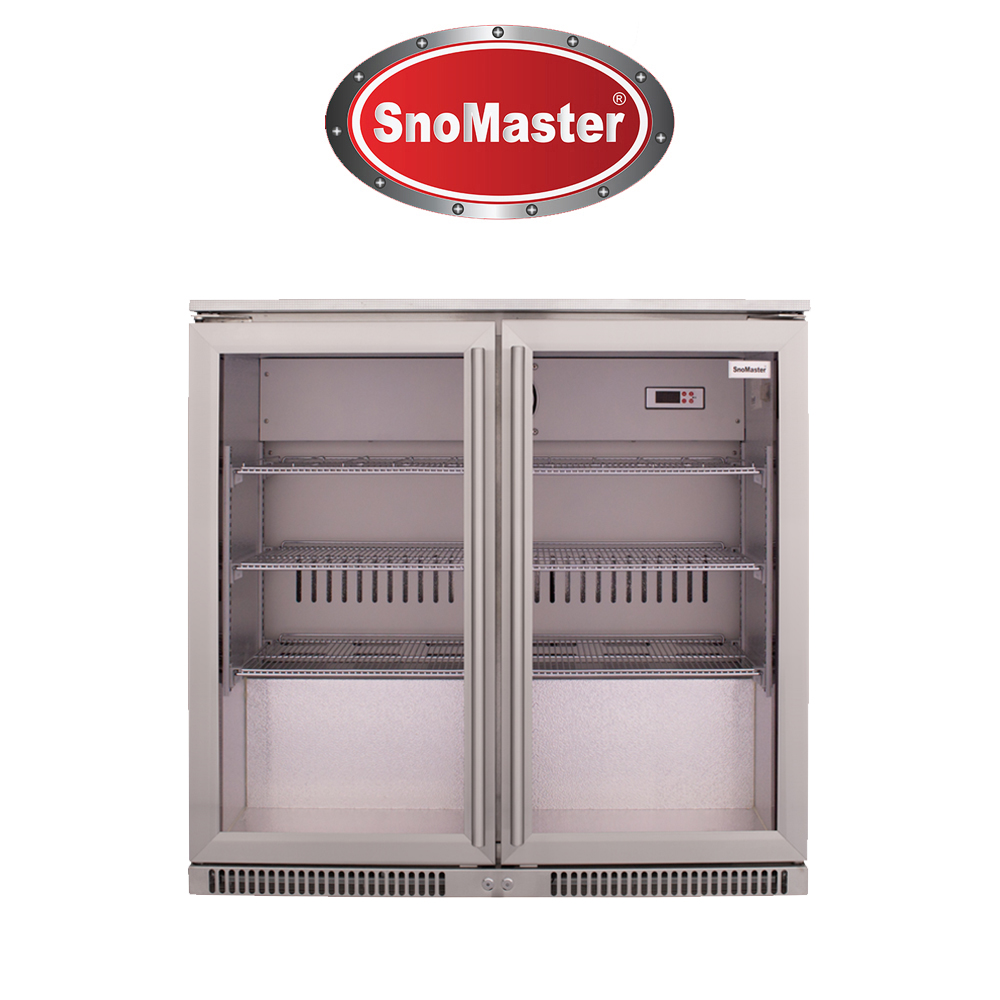 SnoMaster 200L Under Counter Beverage Cooler (Stainless Steel) - SD220SS