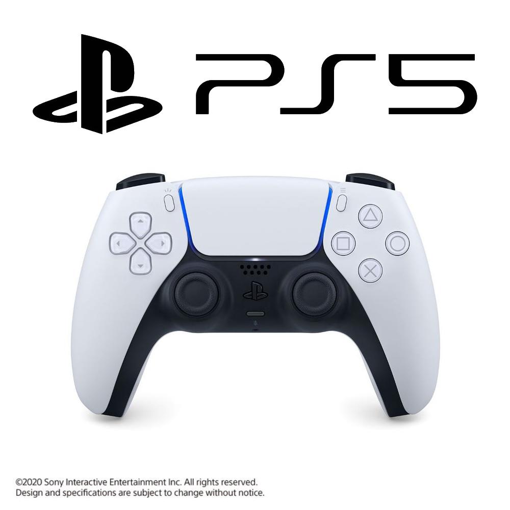 Playstation 5 Dualsense Controller - Glacier White (PS5)