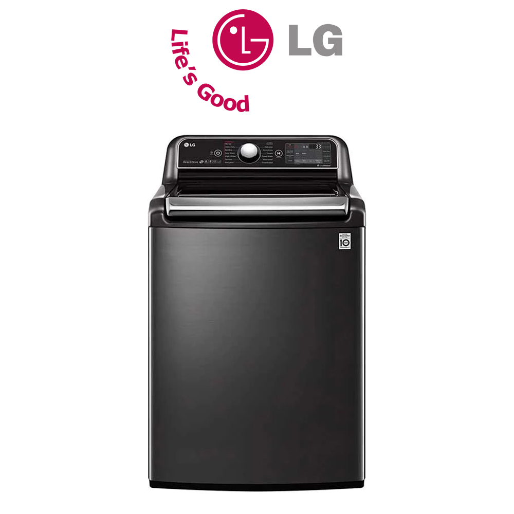 LG 24KG Top Load Washing Machine with Direct Drive & 6 Motion technology - T2472EFHSTL