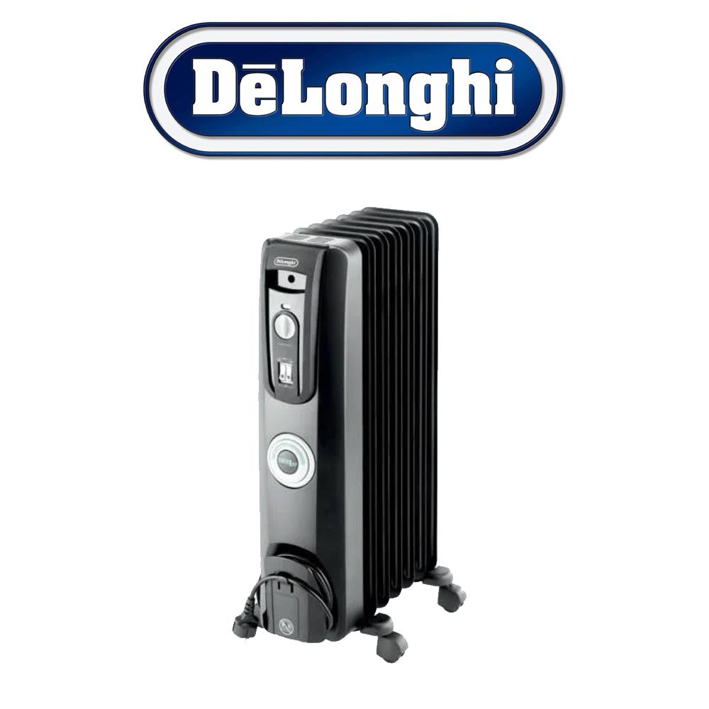 De 'Longhi 7 Fin Electric Oil-Filled Radiator – KH770715CB