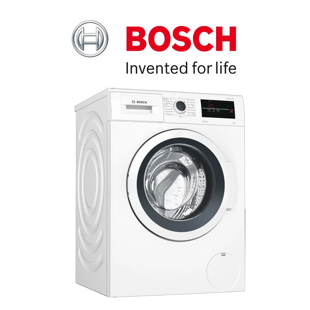 Bosch Serie   2 Frontloader Washing Machine 8 kg 1000 rpm (White) - WAJ20180ZA